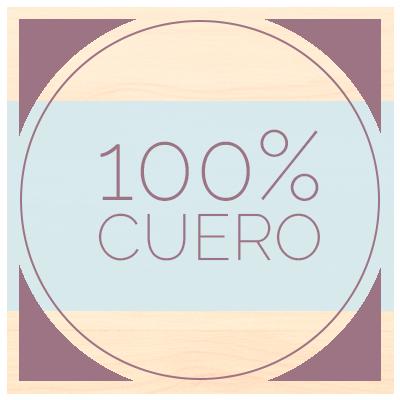 100 % cuero