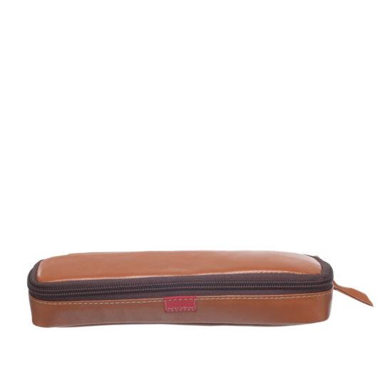 Leather pencil case MP Patricia Mejía